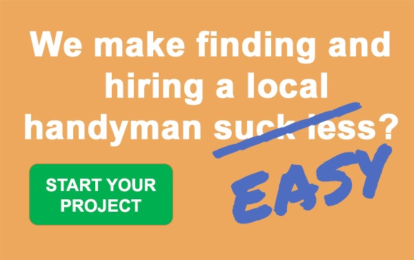 We make finding and hiring a local handyman suck less - easy.